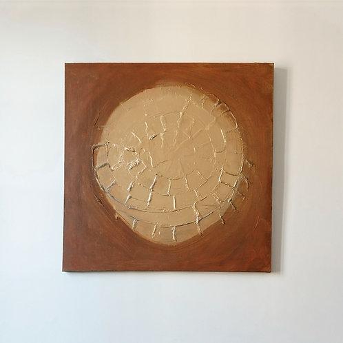 Caléndula II - 100x100 cm