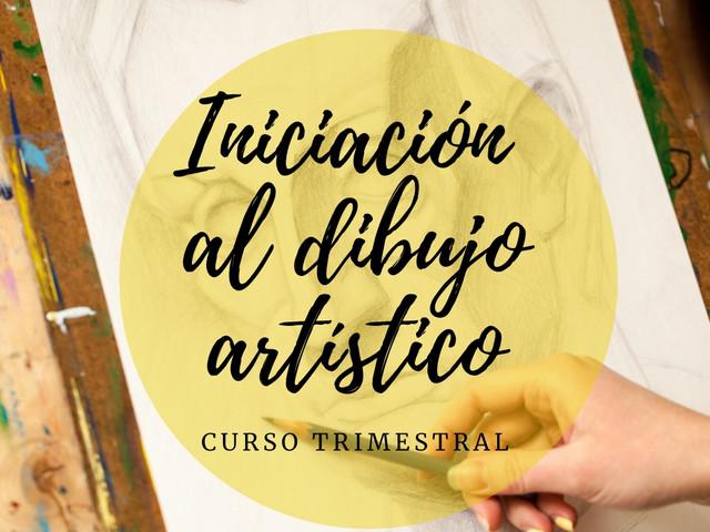 INICIACIÓN AL DIBUJO ARTÍSTICO