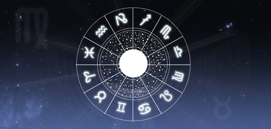 zodiac wheel and constellations