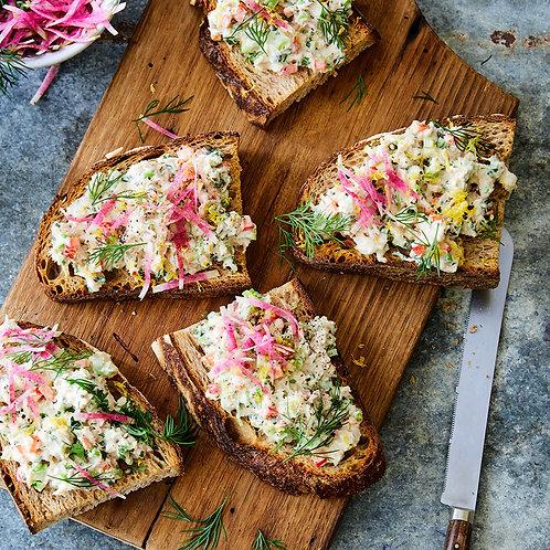 Vegan Whitefysh Salad - 6oz