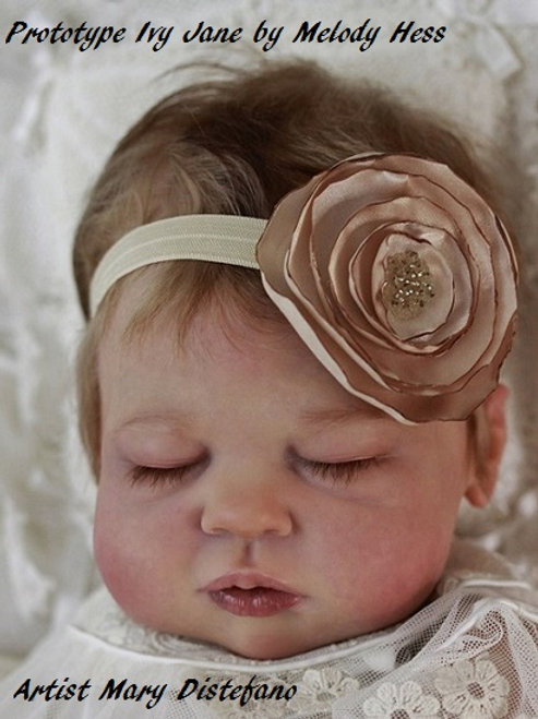 """Ivy Jane Doll Kit By Melody Hess-22""""-Limited Edition 500"""