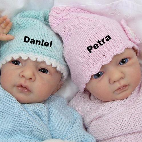 "Daniel & Petra Doll Kit By Linde Scherer -16"""