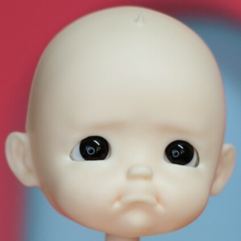 [White] Pity Un-painted / Blank Doll Kit Set