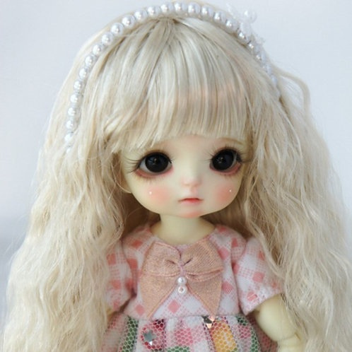 """Faux Mohair Wig JD402-SM202-Light Blond   Size 5-6"""""""