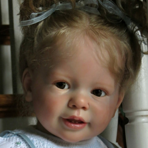 """Katie-Marie Doll Kit By Ann Timmerman_29""""_Vinyl Parts Only"""