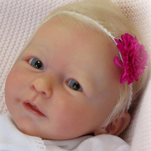 """Little Lisa Doll Kit By Linde Scherer _16.8""""Out Of Stock"""