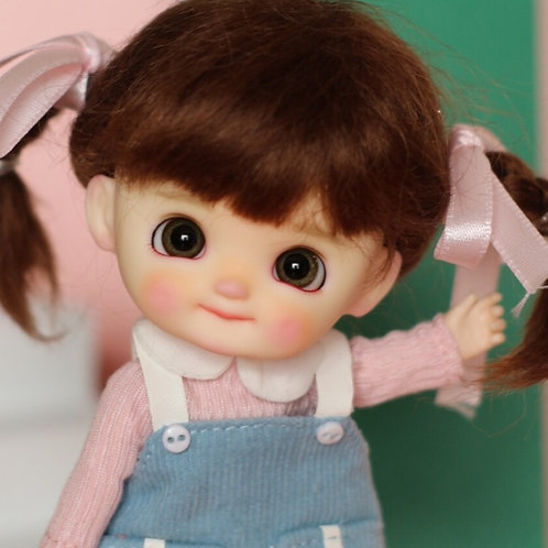 [White] Dimple Completed Full Set Doll - Girl