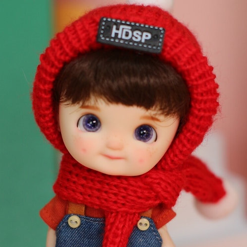 [White] Dimple Completed Full Set Doll - Boy