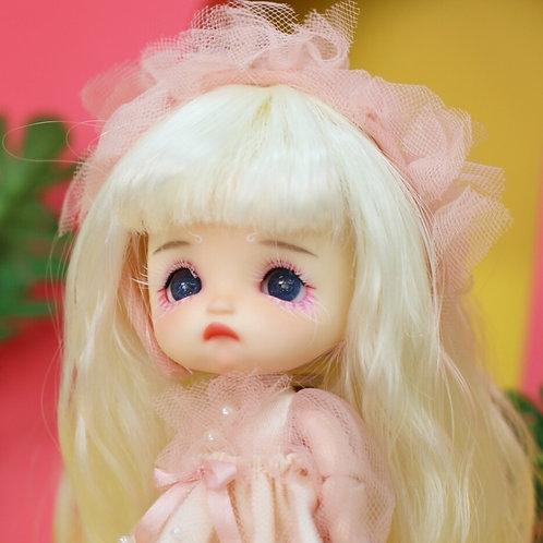 *One-Off*[White] White Hair Poor Little Girl Completed Full Se