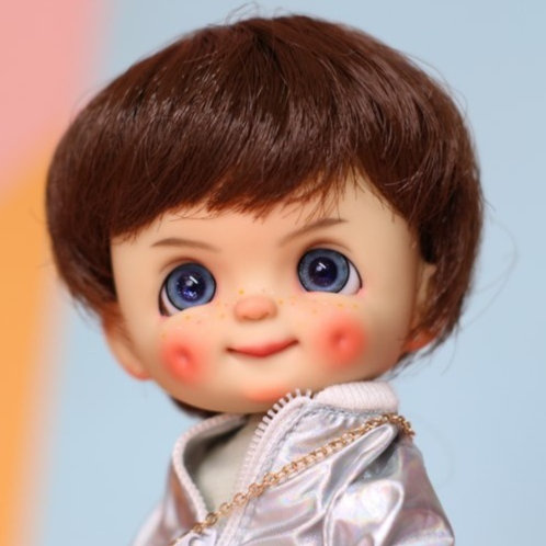 Limited Edition**[Tan] Dimple Completed Full Set Doll -Boy