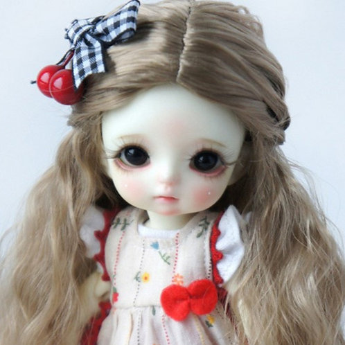 "Faux Mohair Wig JD119-SM4B   Size 5-6"""