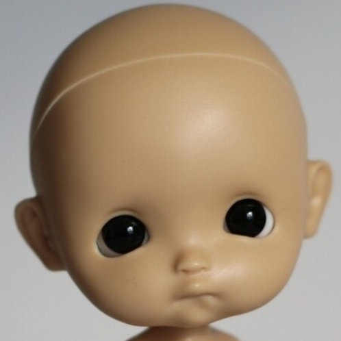 [Tan]Eggy Un-painted / Blank Doll Kit Set