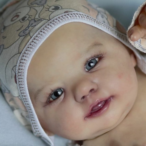 Abigail Smiling Doll Kit By Laura Tuzio-Ross-22""