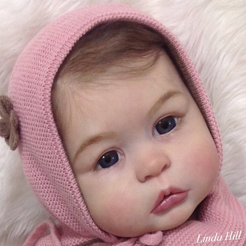 "Princess Charlotte At Age 1 Doll Kit By Tomas Duprat_24-25"""