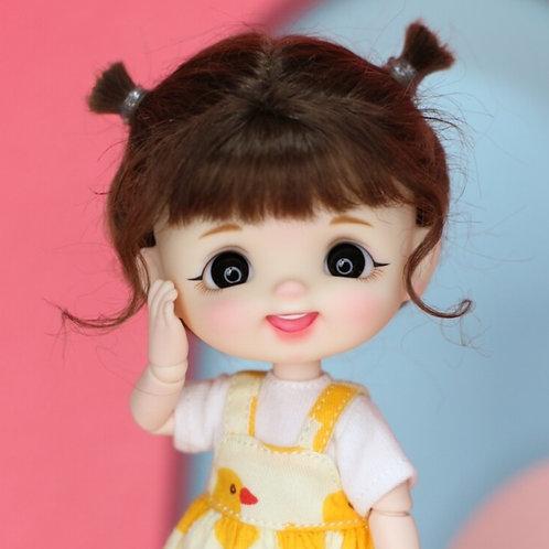 [White] Laugh Completed Full Set Doll - Girl