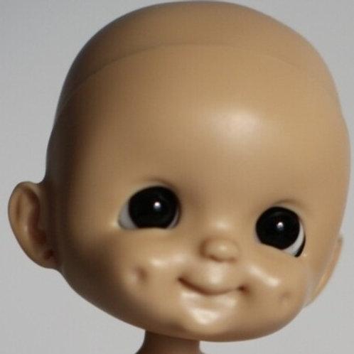 [Tan]Dimple Un-painted / Blank Doll Kit Set