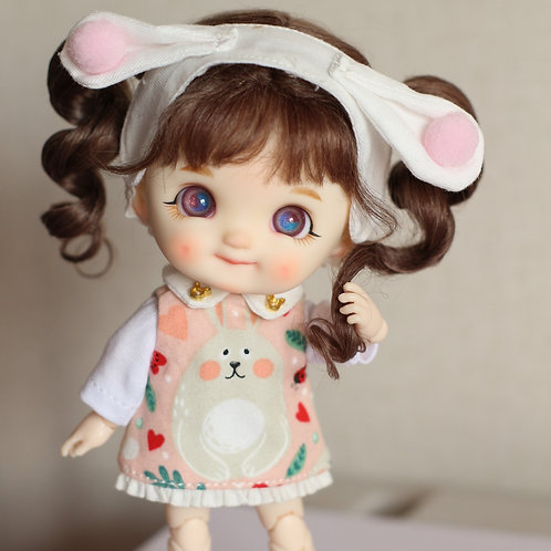 [White] Dimple Completed Full Set Doll
