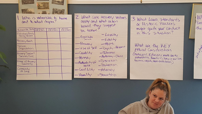 Recovery coach training, March 2019, Margaretville
