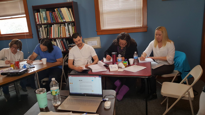 Recovery coach training, Margaretville, March 2019