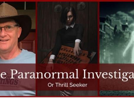 The Paranormal Investigator