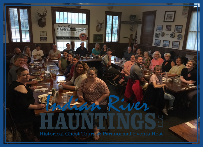 July 7 Dinner & A Ghost Hunt
