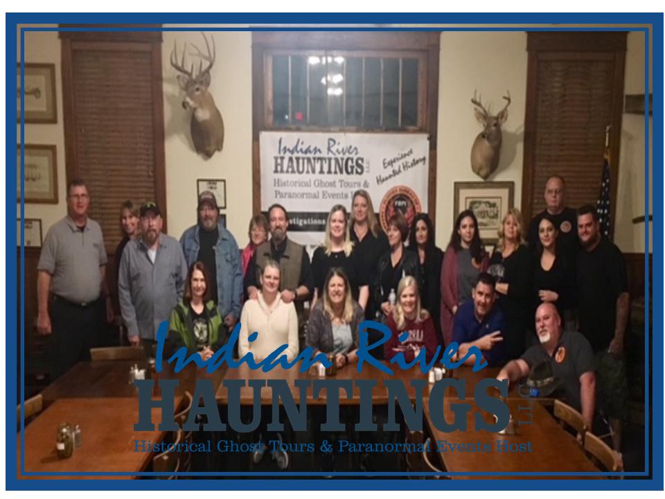 February 9 Dinner & a Ghost Hunt