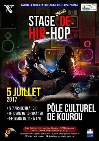 affiche Stage Hip-hop