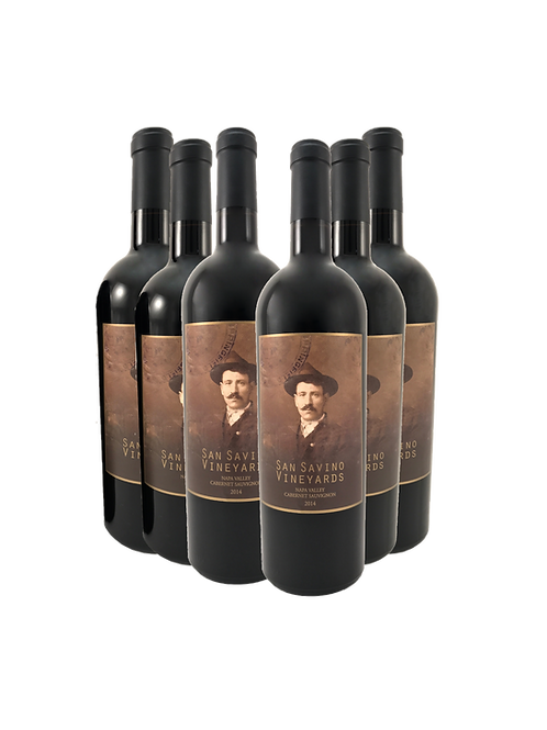 2014 Cabernet 1/2 case:  Six bottles