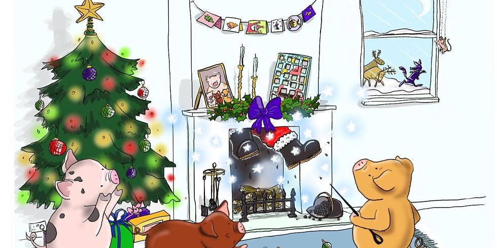 The Three Little Christmas Pigs Live Stream