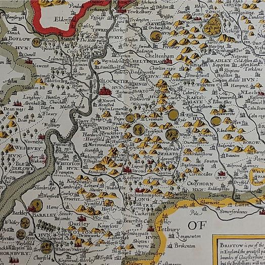 John Speeds map of Gloucestershire.jpg