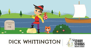 Dick Whittington PowerPoint illustration