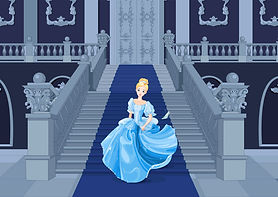 CInderella on the stairs.jpg