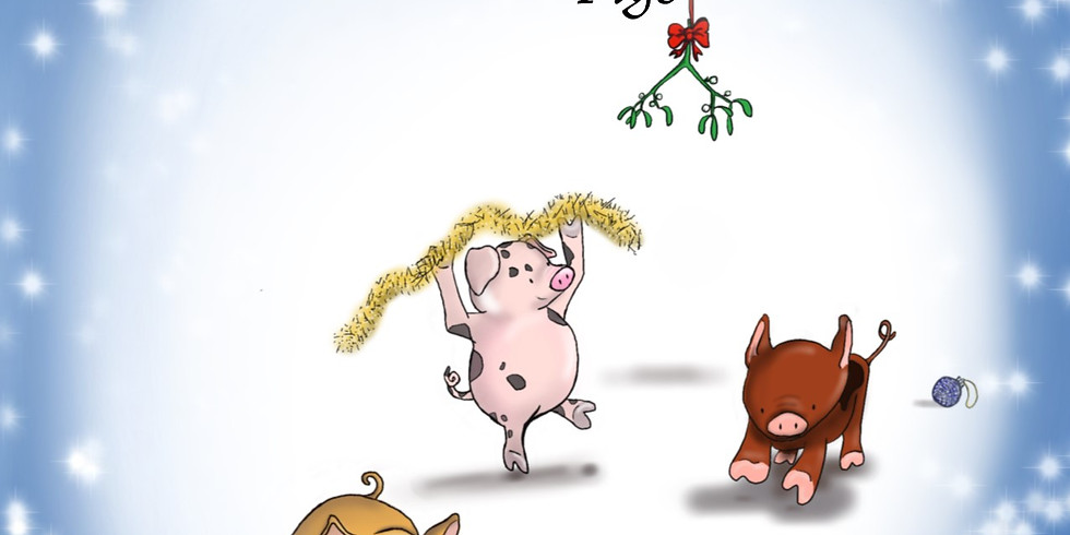 THE THREE LITTLE CHRISTMAS PIGS - 6mnths to 5 yrs