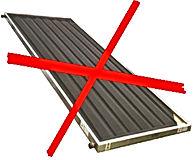 Coletor solar fechado Solarium