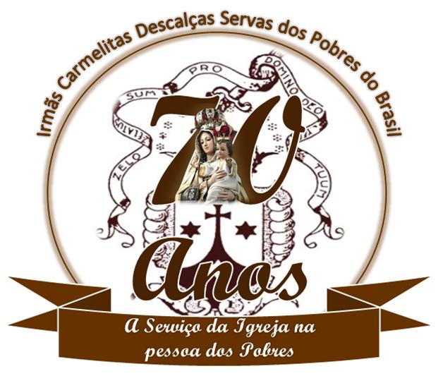 Logotipo dos 70 Anos de Fundação