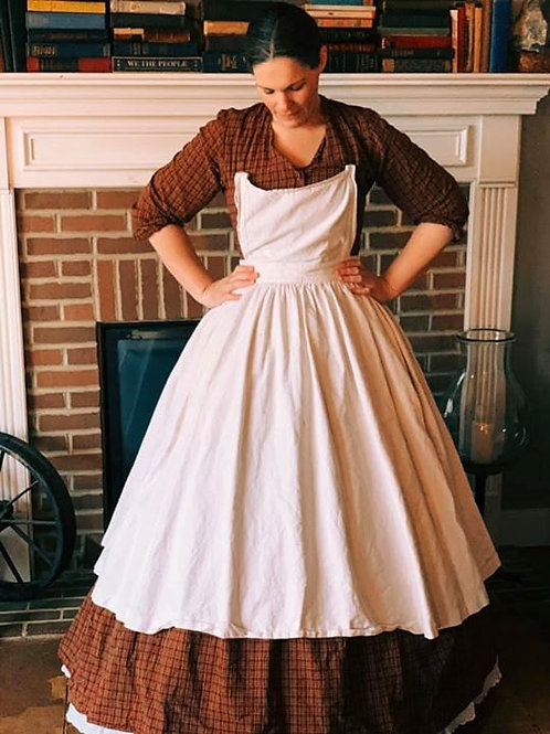 Civil War day dress/camp dress