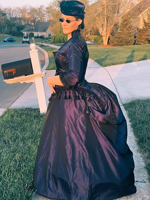 1880's Bustle gown