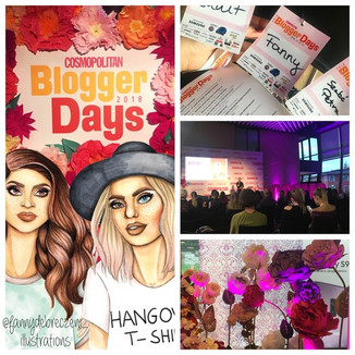 Új motivációk, elfogadás, élménybeszámoló, gondolatok - Cosmopolitan Blogger Days 2018