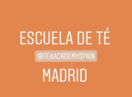 ¡Últimas plazas para nuestro curso de té en Madrid!