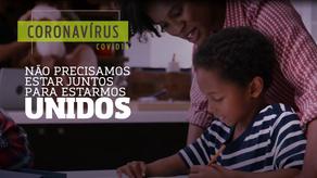 Vídeo educativo: fique em casa