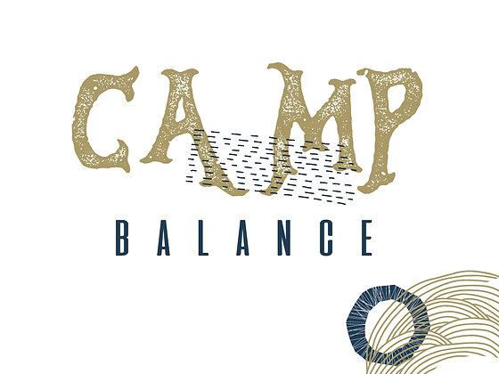 Camp BALANCE (per person)