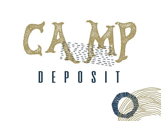 Camp DEPOSIT (PER PERSON) , 2021