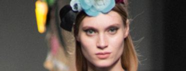 Just One Blue Flower Headpiece