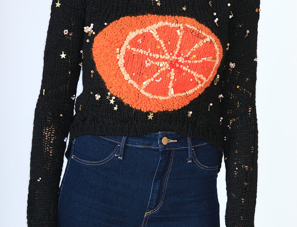 """Orange is the New Moon"" Sweater"