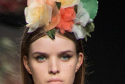 Citric flowers headpiece