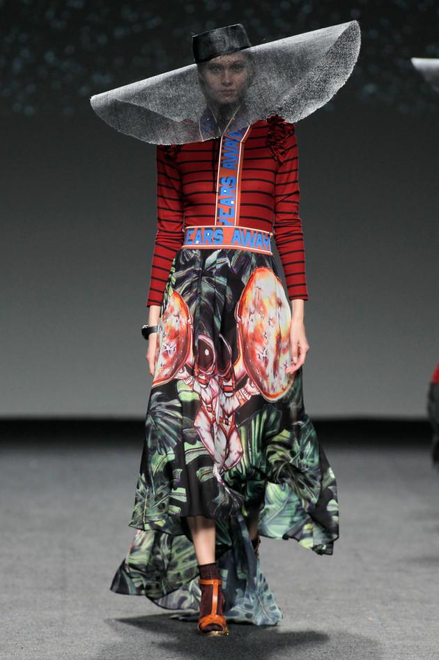 Madrid Fashion week Amai Rodriguez