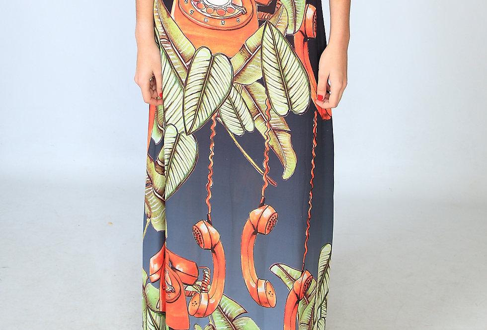 """Leaf a message"" skirt"