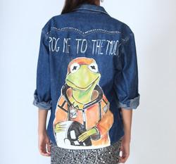 Kermit, the frog jacket