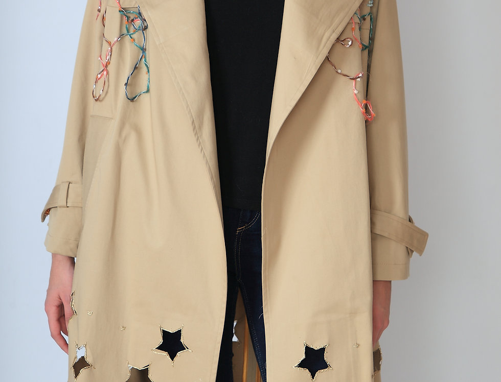 """The holes of my Stars"" trench"