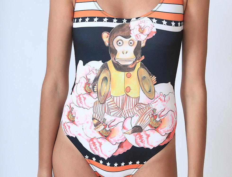 """""""Yankee Monkey"""" Bodysuit"""